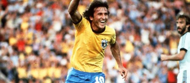Zico do Brasil quer ser presidente da Fifa.