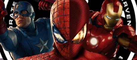 En la galería el Spider Suit en persona