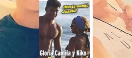 Pasando de Juanki en la playa con Kiko