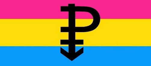 Bandera que representa a los Pansexuales