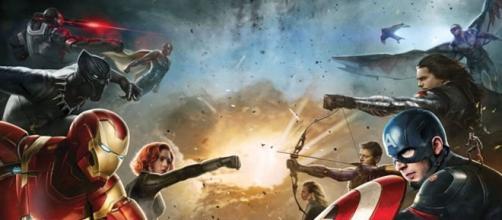 Carteles de Capitán América Civil War