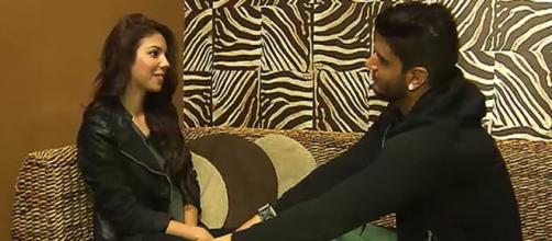 Iván y Anaís durante una cita en MYHYV