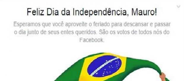 Facebook pede que brasileiros fiquem em casa