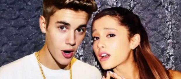 Justin Bieber e Ariana Grande são bons amigos.