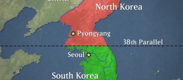 Las dos Coreas separadas y los familiares