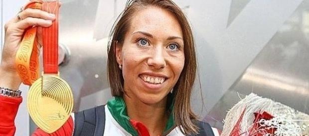 Marina Arzamasova struck gold in the WC 800.