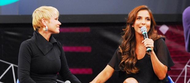 Xuxa e Ivete (Foto/Reprodução altas Horas)