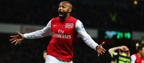 Arsenal legend - Thierry Henry