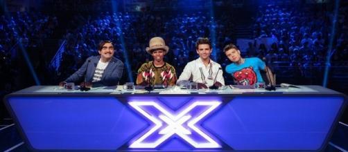 I giudici di X Factor 9: Elio, Skin, Mika e Fedez.