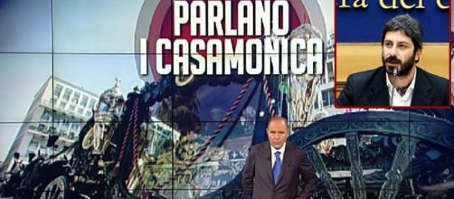 Roberto Fico contro Bruno Vespa