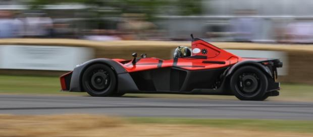 BAC Mono takes on the famous Goodwood hillclimb