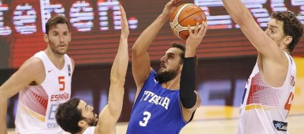 Marco Belinelli fue el más importante del partido.