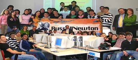 Gli studenti del Liceo Russel-Newton di Scandicci