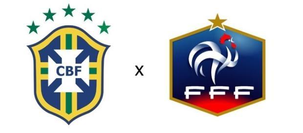 Brasil perde para a França por 2x1