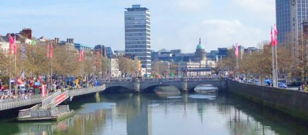Dublin, Irlanda. Foto: Júlia Paniz.