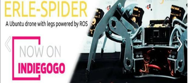 Erle Spider, primera araña robótica española