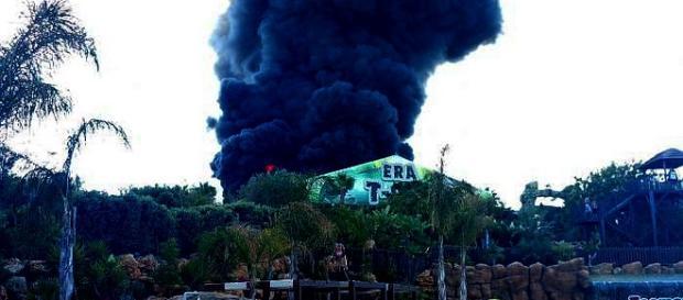 Incêndio obrigou à evacuação sectorial do parque