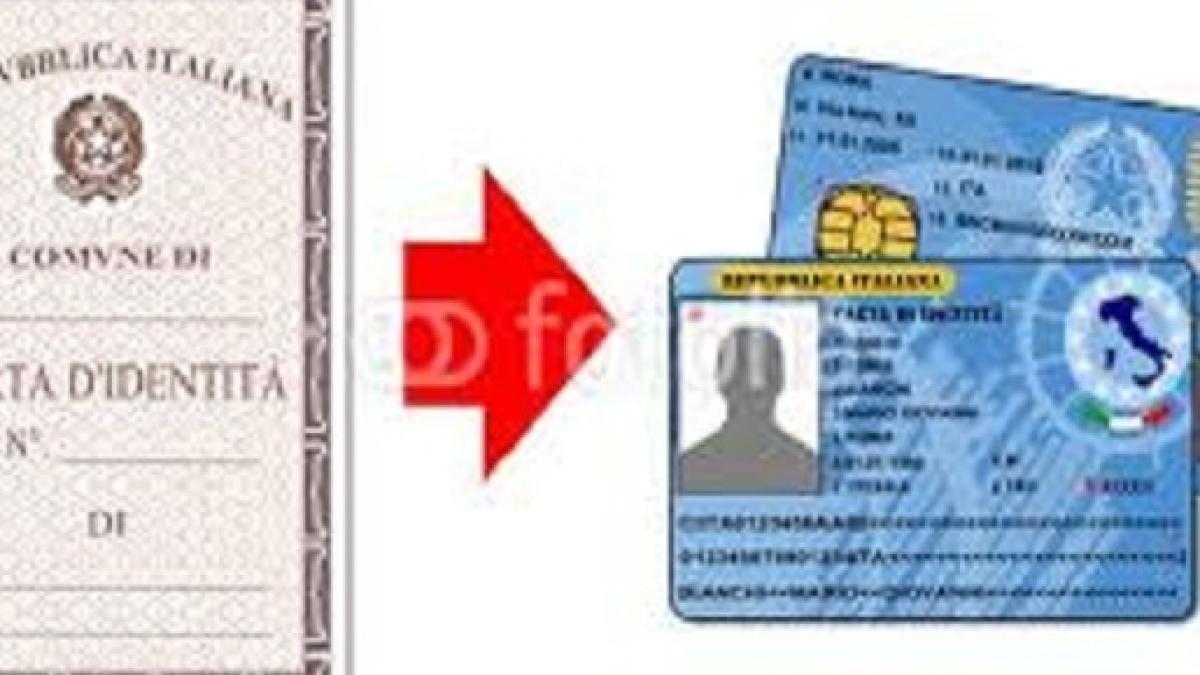 Arriva La Carta Didentità Elettronica Con Le Impronte Digitali