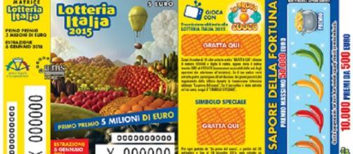Estrazione Lotteria Italia 2015, 6 gennaio 2016