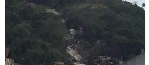 Tragédia no sudeste, pedra rolou fazendo vítimas