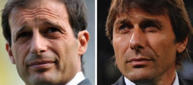 Allegri-Conte, Calciomercato Juventus 1 gennaio