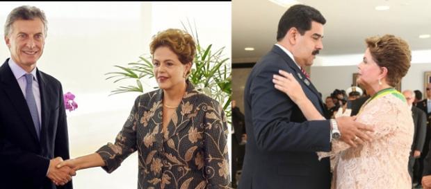 Dilma apoiará Maduro contra todos e a todo custo