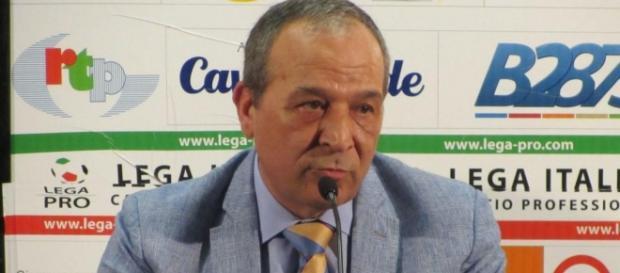 Il Presidente del Messina Natale Stracuzzi