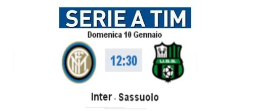 Diretta Inter-Sassuolo e video highlights