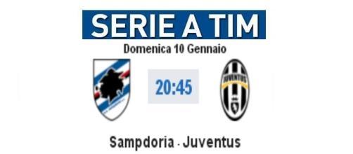 Diretta Sampdoria-Juventus e video highlights