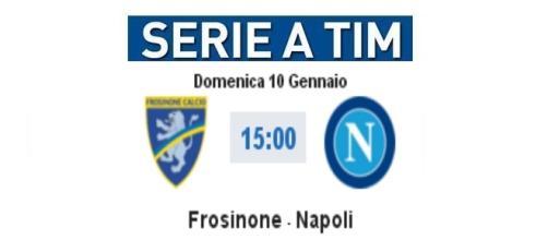 Frosinone-Napoli, diretta e video highlights