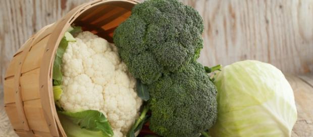 Coliflor y brócoli para la salud