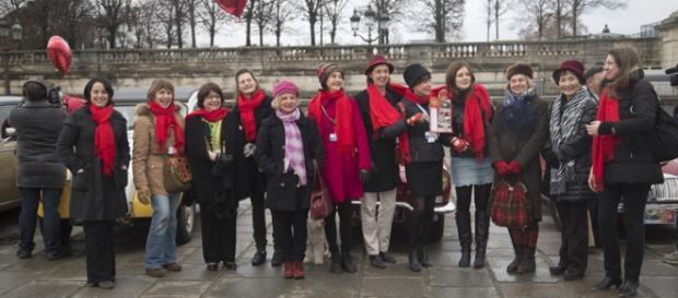 Quelques femmes à la Traversée de Paris