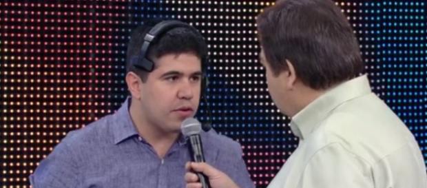 Renatinho e Faustão - Foto/Reprodução: TV Globo