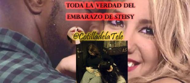 Toda la verdad del embarazo de Steisy