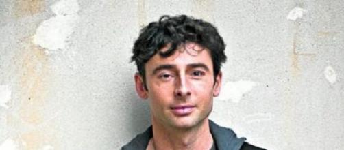 Bruno Oro sin maquillaje ni caracterización.