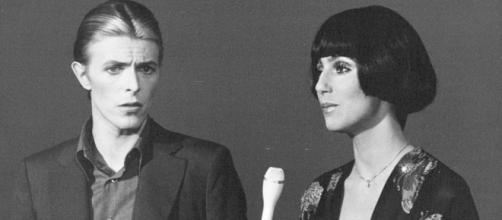 David Bowie con Cher, altra icona musicale