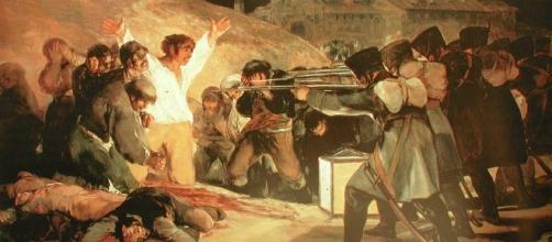 Fusilamientos del 3 de Mayo, Francisco de Goya