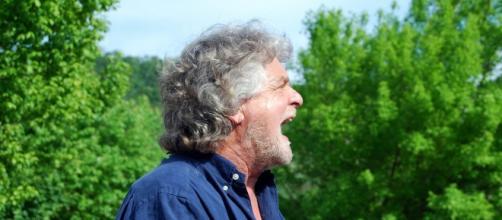 L'ispiratore del M5S, Beppe Grillo
