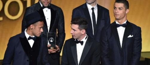 Neymar é o 3º melhor jogador do mundo