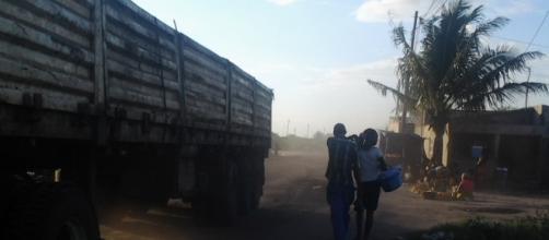 Poluição do ar no bairro da Munhava