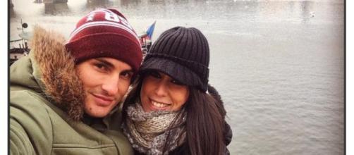 Raquel y Víctor disfrutan de su amor