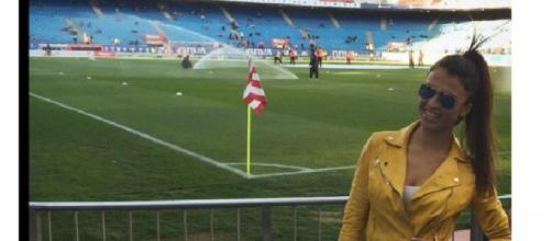 Sofía y su posible novio futbolista