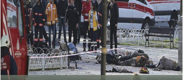 Atentado en Turquia en la ciudad de Estambul