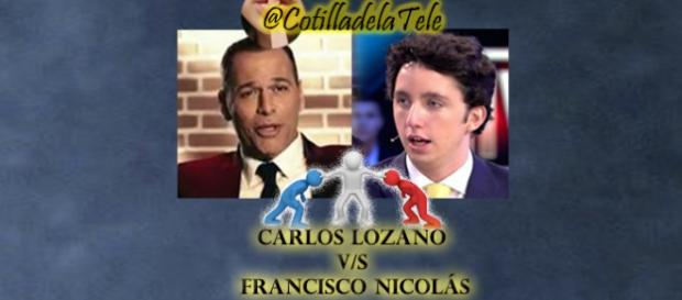 Carlos Lozano y Fran Nicolás, enfrentados en GHVip