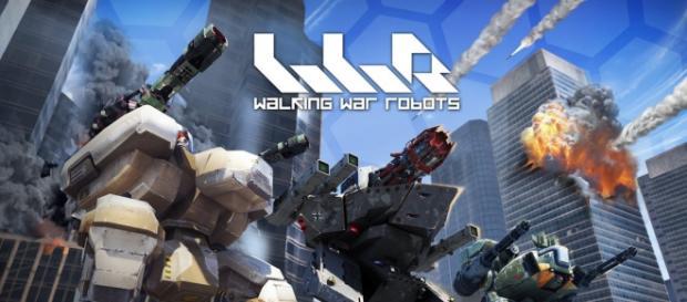 Imagen de algunos robots de WWR
