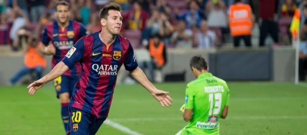 Leo Messi gana su quinto balón de oro