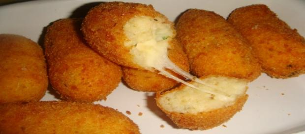 Panzarotti napoletani con mozzarella