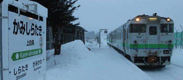 Trenul care oprește doar pentru o elevă!