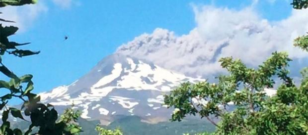 Volcán Nevados de Chillan en Chile