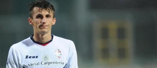L'attaccante dell'F.C. Crotone Ante Budmir.